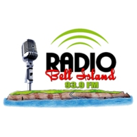Logo of radio station CJBI-FM Radio Bell Island 93.9FM