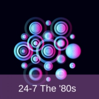 Logo of radio station 24-7 The '80s