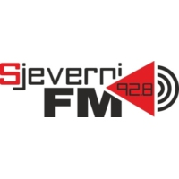 Logo of radio station Sjeverni FM
