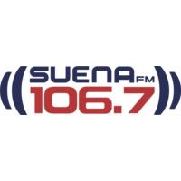 Logo of radio station XEWV Suena FM 106.7