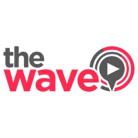 Logo of radio station The Wave 96.4FM