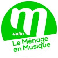 Logo of radio station M Radio - Le Ménage en musique