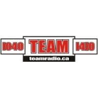 Logo of radio station CKST - Team 1040