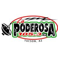 Logo of radio station KZLZ La Poderosa 105.3 FM
