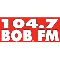 Logo of radio station KIKX 104.7 BOB FM