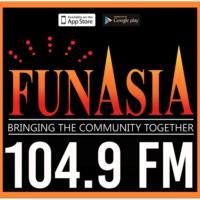 Logo de la radio KZMP-FM 104.9 FunAsiA