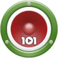 Logo de la radio 101.ru - Кавказ Hits