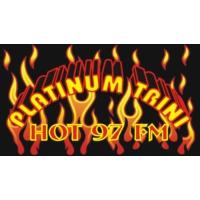 Logo of radio station Platinum Trini Hot 97 FM