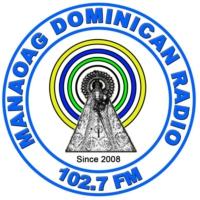 Logo of radio station Manaoag Dominican Radio