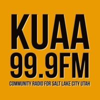 Logo de la radio KUAA 99.9fm