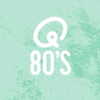 Logo of radio station Q-80's