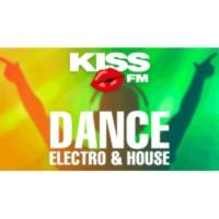 Logo of radio station KISS FM - DANCE, ELECTRO & HOUSE