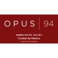 Logo of radio station XHIMER-FM Opus 94