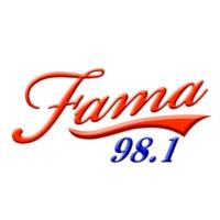 Logo de la radio Fama 98.1 FM