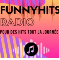 Logo of radio station funnyhits radio
