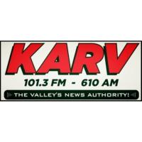 Logo of radio station KARV Newsradio 610