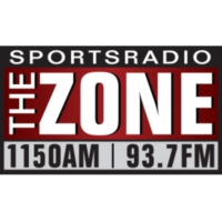 Logo de la radio KZNE The Zone 1150 AM