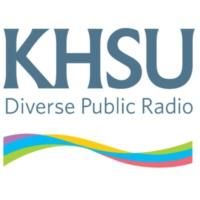 Logo of radio station KHSU 90.5