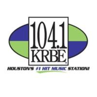 Logo of radio station 104.1 KRBE