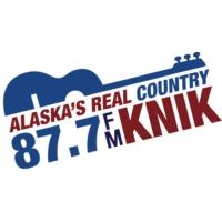 Logo de la radio KNIK 87.7 FM