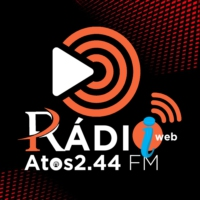 Logo of radio station Atos 2.44 FM