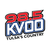 Logo of radio station 98.5 KVOO