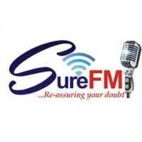 Logo of radio station SURE FM
