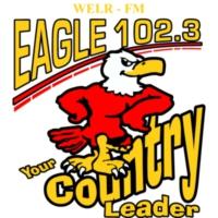 Logo of radio station WELR Eagle 102.3