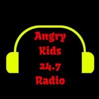 Logo de la radio Angry Kids 24-7 Radio