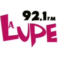 Logo of radio station XHHC-FM La Lupe 92.1 FM