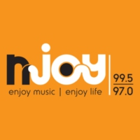 Logo of radio station NJOY 99.5