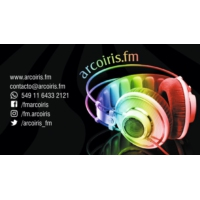 Logo of radio station arcoirisfm