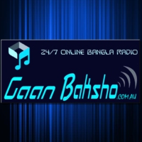 Logo of radio station Gaan Baksho - HD Bangla Radio