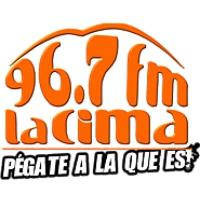 Logo of radio station La Cima 96.7 FM Carrizal