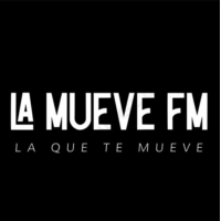 Logo of radio station La Mueve FM