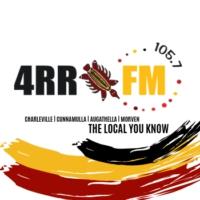 Logo of radio station 4RR FM