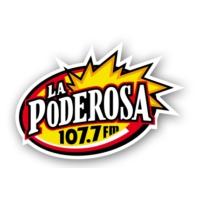 Logo of radio station La Poderosa 1130 AM