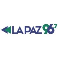 Logo of radio station FM La Paz 96.7