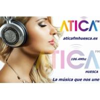Logo de la radio Atica Fm Huesca