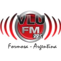 Logo of radio station VLU FM 88.5
