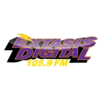 Logo de la radio XHQJ Éxtasis Digital 105.9 FM