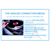 Logo of radio station The English Connection Media