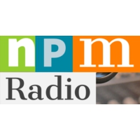 Logo of radio station npmradio Somos Positivos- we are positive