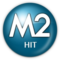 Logo of radio station M2 HIT