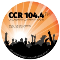 Logo de la radio CCR 104.4FM