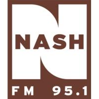 Logo of radio station KATC 95.1 Nash FM