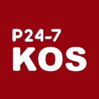 Logo de la radio P24-7 KOS