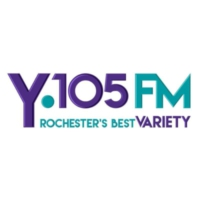 Logo of radio station KYBA Y105FM