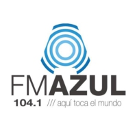 Logo of radio station Azul 104.1 FM