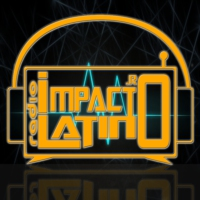 Logo of radio station Impacto Latino Radio